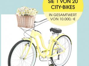 MIAMODA Gewinnspiel: City-Bikes zu gewinnen