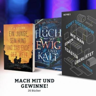 buchSZENE Gewinnspiel: SciFi- oder Fantasy-Bücher zu gewinnen