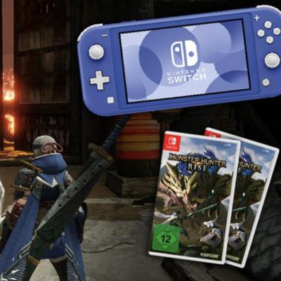 AJOURE MEN Gewinnspiel: Nintendo Switch Lite und Spiele zu gewinnen