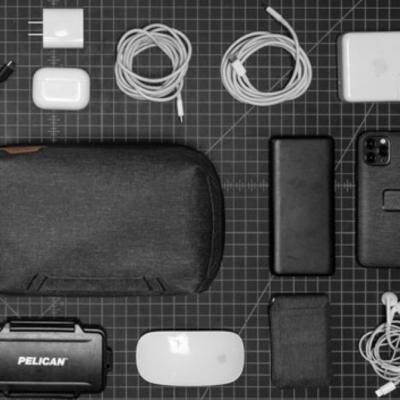 AJOURE MEN Gewinnspiel: Tech Pouch Organzier-Tasche zu gewinnen