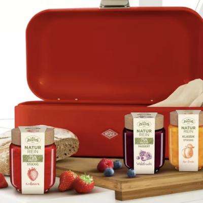 BUNTE Gewinnspiel: WESCO Brotkasten plus Genießerpaket zu gewinnen