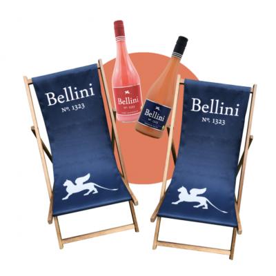 REWE Gewinnspiel: Bellini Frucht-Cocktail-Pakete und Liegestühle zu gewinnen