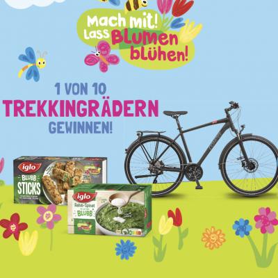 iglo Gewinnspiel: Trekkingräder zu gewinnen