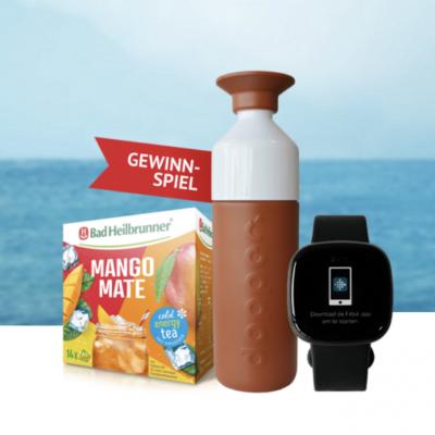 Bad Heilbrunner Gewinnspiel: Fitbit und Dopper Trinkflaschen zu gewinnen