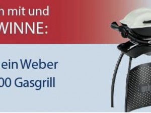 GEFAKO Gewinnspiel: Weber Gasgrill zu gewinnen