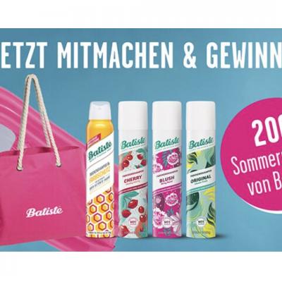 Rossmann Gewinnspiel: Batiste Sommerpaket zu gewinnen