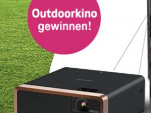 Telekom Gewinnspiel: Outdoor-Heimkinoset zu gewinnen