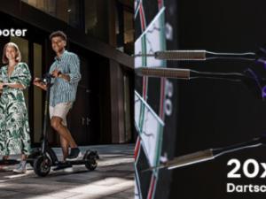 DACIA Gewinnspiel: E-Scooter und Dartscheiben zu gewinnen