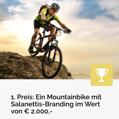 Salenettis Gewinnspiel: Mountainbike zu gewinnen