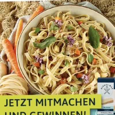 EatSmarter Gewinnspiel: DINKEL MAX Pakete zu gewinnen