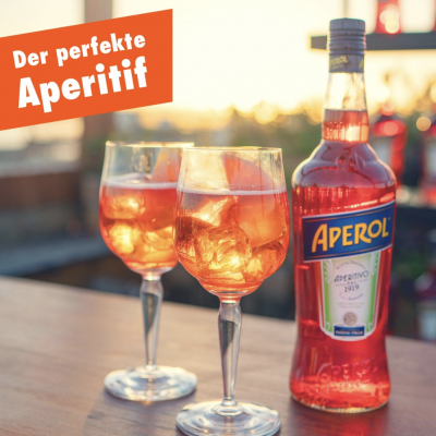 Aperol Gewinnspiel: Aperol-Gläser-Set zu gewinnen