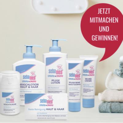 kribbelbunt.de Gewinnspiel: sebamed Renigungs- und Pflegesets zu gewinnen