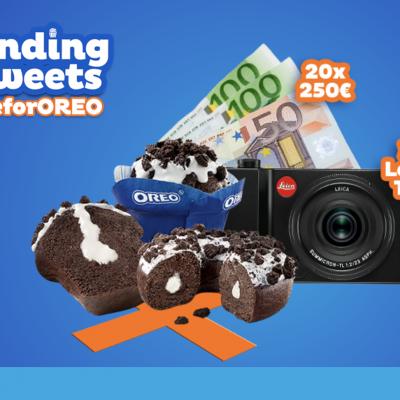 OREO donut-muffin Gewinnspiel: 250 EUR Bargeld oder Leica TL2 Kamera zu gewinnen