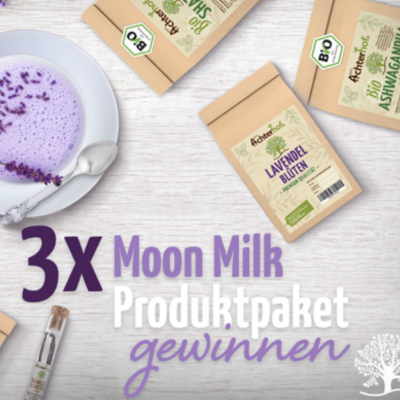 Eat Smarter Gewinnspiel: Moon Milk Paket zu gewinnen