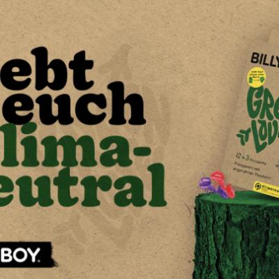 Myself Gewinnspiel: BILLY BOY Green Love Überraschungspaket zu gewinnen