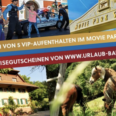 Albi Gewinnspiel: VIP Familienpaket im Movie Park zu gewinnen