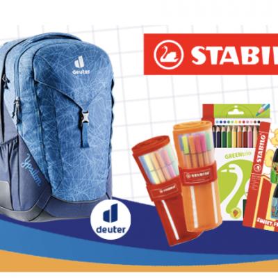 Rossmann Gewinnspiel: Schulrucksack und STABILO Pakete zu gewinnen