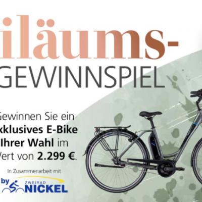 BBM Einrichtungshaus Gewinnspiel: E-Bike zu gewinnen