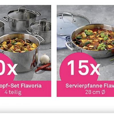 kela Gewinnspiel: Kochtopf-Sets von Flavoria zu gewinnen