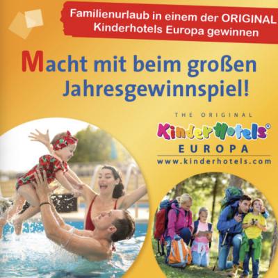 Ravensburger Kinderwelt Gewinnspiel: Familienurlaub zu gewinnen