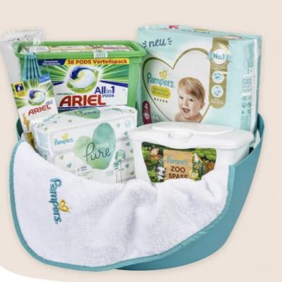 ROSSMNN Gewinnspiel: Produkt-Set von Pampers und Ariel zu gewinnen