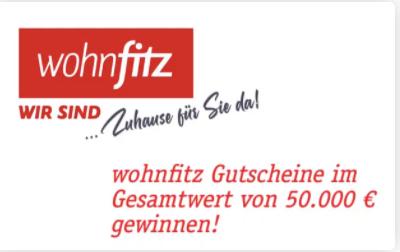 wohnfitz Gewinnspiel: 3000 Euro Einrichtungs-Gutschein zu gewinnen