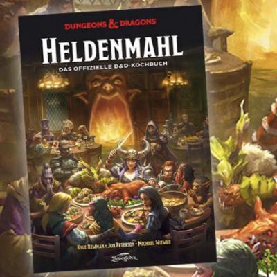 """pointer.de Gewinnspiel: Kochbuch """"Dungeons & Dragons: Heldenmahl"""" zu gewinnen"""