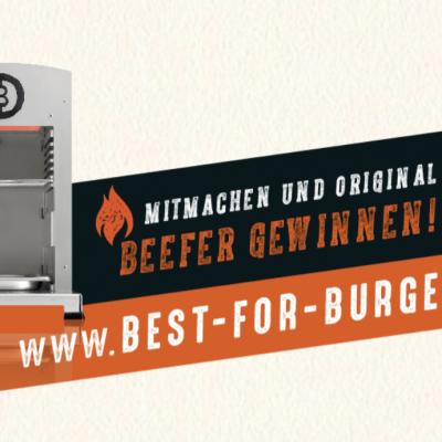 BLOCK HOUSE Gewinnspiel: Beefer one Pro inkl. Grillpaket zu gewinnen