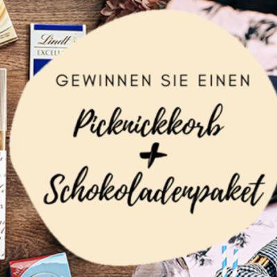 BurdaDirect Gewinnspiel: Picknick-Korb und Schokoladenpaket zu gewinnen