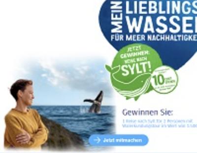 Brita Gewinnspiel: Sylt Reise & Walerkundungstour zu gewinnen