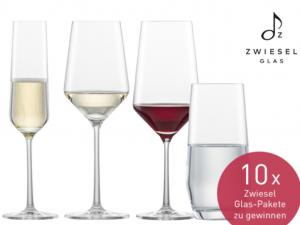 EatSmarter Gewinnspiel: Zwiesel Glas-Paket zu gewinnen