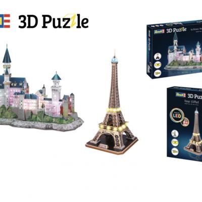 GLAMOUR Gewinnspiel: 3D Puzzle von Revell zu gewinnen