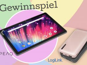 HappySpots Gewinnspiel: PEAQ Tablet und Powerbanks zu gewinnen