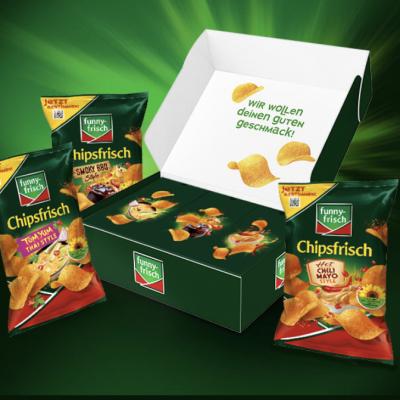 funny frisch Gewinnspiel: Chips-Testboxen zu gewinnen
