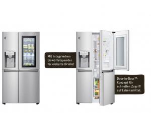 REWE Gewinnspiel: LG Kühl-Gefrier-Kombination zu gewinnen