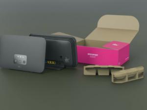 BRIGITTE Gewinnspiel: Telekom-Router zu gewinnen